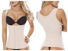 8036 Control Body Shaper Vest Color Beige. The Moldeate Control Body Shaper Vest Color Beige is an open-bust cami style shaper designed for some serious shaping. Control panels in the front and back sculpt out a slimmer, trimmer waistline by smoothing over problem areas, while the criss-cross engineered back promotes better posture. Wear for a total-body transformation. Composition: 85% nylon, 15% elastomeric ultra stretch shaping microfiber fabric provides powerful control while...