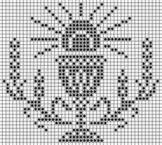 Folk Embroidery, Cross Stitch Embroidery, Embroidery Patterns, Crochet Patterns, Cross Stitch Borders, Cross Stitch Patterns, Faith Crafts, Fillet Crochet, Cross Stitch Pictures