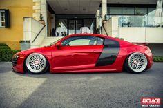 Wörthersee Part 5 - Fatlace™ Since 1999 Weird Cars, Cool Cars, Crazy Cars, Audi R8, Audi All Models, Slammed Cars, Liberty Walk, Car Goals, Car Colors