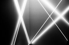 FRANCOIS MORELLET AT THE DYNAMO EXHIBITION AT GRAND PALAIS PHOTOGRAPHED BY BORIS LOEVE, SOME/THINGS AGENCY