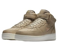 Nike Air Force 1 Mid Retro Premium Jewel 941913-200 #Nike #AthleticSneakers
