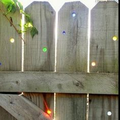 Drill holes & add marbles