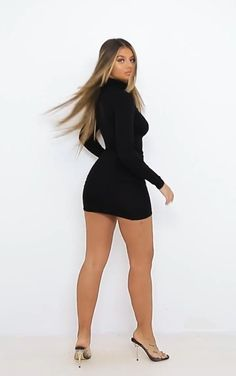 Chic Black Outfits, Black Dress Outfits, Cute Comfy Outfits, Girly Outfits, Dance Outfits, Skirt Outfits, Sexy Outfits, Sexy Dresses, Cute Dresses