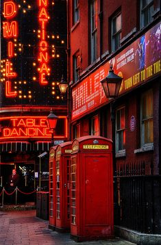 Night at Soho, London