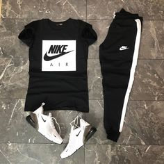 Cute Nike Outfits, Summer Swag Outfits, Dope Outfits For Guys, Swag Outfits For Girls, Stylish Mens Outfits, Sport Outfits, Casual Outfits, Hype Clothing, Mens Clothing Styles