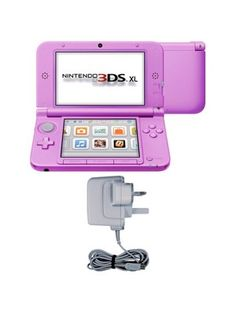 Nintendo 3DS XL Console - Pink, http://www.isme.com/nintendo-3ds-xl-console---pink/1264581905.prd