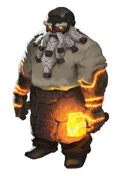 Woagar Blackforge, o Sumo-Sacerdote de Nalbir.