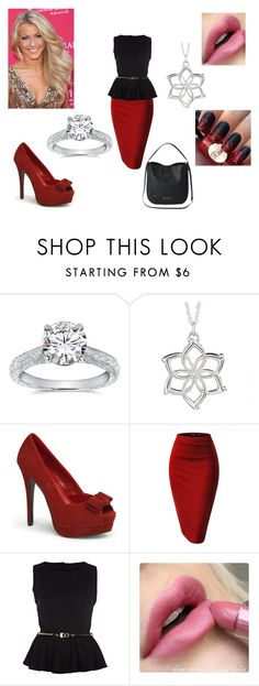 """Melanie (8)"" by emma-frost-98 ❤ liked on Polyvore featuring Kobelli, River Island, Marc by Marc Jacobs, JULIANNE and Arrow"