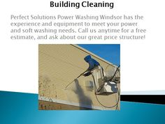 Perfect Solutions Power Washing Windsor has the experience and equipment to meet your power and soft washing needs. Call us anytime for a free estimate, and ask about our great price structure.