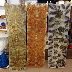 natural dye, ecoprint