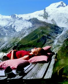 enjoy the Swiss Alps during summertime.....hiking, climbing, mountain biking, wellbeing and more in Saas Fee/Switzerland