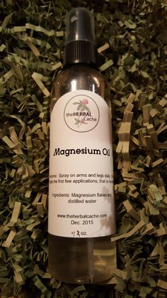 Magnesium Oil   Herbal   Health   Mineral   Charlie Horse   Muscle spasm by theHERBALCache on Etsy https://www.etsy.com/listing/261882911/magnesium-oil-herbal-health-mineral