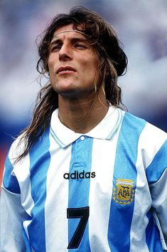 Claudio Caniggia - River Plate, Hellas Verona, Atalanta, Roma, Benfica, Boca Juniors, Dundee, Rangers, Qatar SC, Wembley, Argentina.