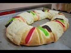 ▶ CHUCHEMAN como hacer una rosca de reyes casera -Recetas de cocina - YouTube