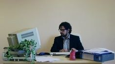 Office Work Busy Employee 2 Stock Footage Clip