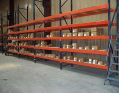 Wide variety of pallet rack, heavy duty industrial and commercial shelving. retail and restaurant grade shelving, wire shelving, metal storage shelving, wide-span shelving, warehouse equipment, and more! Call (812) 948-8801 #Shelving #Storage #PalletRack #Shelf