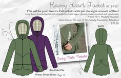 CiCi Bean - Happy Heart Jacket, perfect for fall!