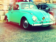 Dream car! #bug #seafoamgreen #mint