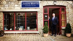 Joseph Martin Bespoke Tailor Sligo features in Bespoken Magazine, Corporate Headshot Photography, Tailor