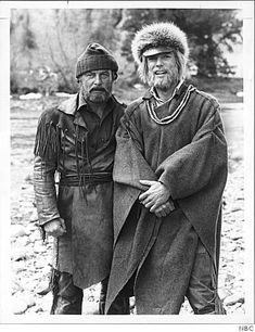 Centennial (1978)- Pasquinel (Robert Conrad) & McKeag (Richard Chamberlain)-the best miniseries ever made