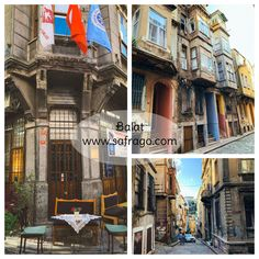 Istanbul is characterized by its many beautiful and popular neighborhoods and one of these neighborhoods is a tile that features colorful houses and cafes with vintage design Golden Horn, Colorful Houses, Red Bricks, Travel Trip, Istanbul Turkey, Pavement, House Colors, Vintage Designs, Playground
