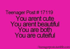 To all my followers you are more than cutieful you are all amazing and gorgeous individuals! Stay cutieful ★