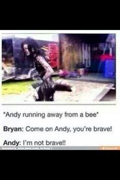 Run Andy run!