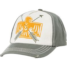 Keep your head and face protected but still look super cute at the beach in the Do It Again baseball hat from Billabong. This olive green snapback hat features contrast natural white stitching details and a tribal Eagle and arrows print graphic on the front panel. The Do It Again 5 panel hat from Billabong will keep you shaded in the hot summer sun.