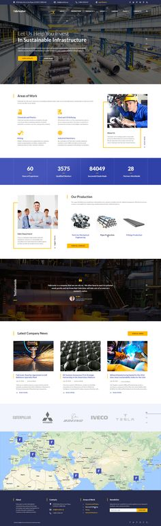 Steelworks Site Template