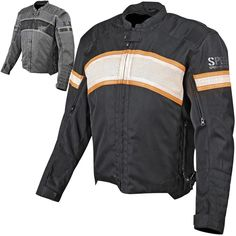 Speed and Strength Hog Cruise Missile Leather Textile Motorcycle Jackets