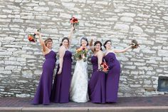 www.SistersFlowers.net , White-Klump Photography, #fallflowers, #purple, #orange, #coral, #flowers, #bouquets, #dresses, #stcharlesborromeo, #wedding, #church, #wreaths, #amsterdam, #roses