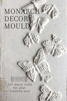 Adding vintage three dimensional details to your DIY projects has never been easier! Check out the latest release of Decor Moulds from Iron Orchid Designs. Iron Orchid Designs, Make Your Own Jewelry, Air Dry Clay, Paper Clay, Painted Furniture, Furniture Ideas, Furniture Makeover, Furniture Refinishing, Repurposed Furniture