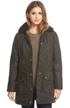 Free shipping and returns on Barbour 'Bower' Waxed CottonJacket at Nordstrom.com. Equipped with a snap-off hood, this hearty waterproof jacket cut from rugged Sylkoilwaxed cotton offers versatile weather protection. A corduroy collar, plaid lining and suede trim add rustic, heritage appeal.