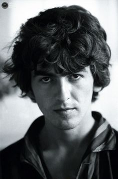 george harrison with curly hair - Google Search