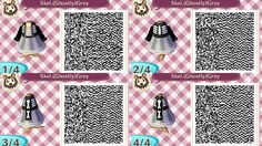 Skeleton jacket A Skeleton jacket over top of 6 different colour dresses! Available in Blood Red, Mystic Purple, Pumpkin Orange, Slime Green, Batty Blue and Ghostly Grey! Different Color Dress, Skull Sweater, Animal Crossing Qr, Halloween Design, Purple, Grey, Qr Codes, Jackets, Skeleton