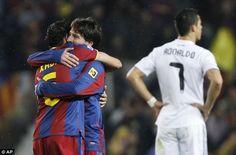 Cristiano Ronaldo cannot be compared to Lionel Messi says Xavi