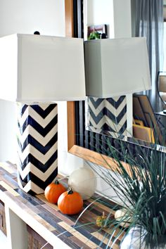 use FREE paint sticks stained in different colors to top an Ikea bookcase.