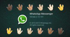 WhatsApp para Android é atualizado com emojis de diferentes etnias, um novo material design atualizado com emojis étnicos. Agora liderado no Android.