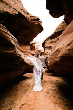 Curious about an Antelope Canyon Wedding? This slot canyon elopement in Page, Arizona is the perfect inspiration for your antelope canyon wedding dreams! Slot Canyon, Antelope Canyon, Wedding Dreams, Dream Wedding, Arizona, Elopement Inspiration, Intimate Weddings, Adventure
