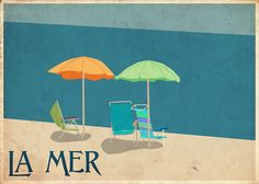 seleneheart: La Mer travel poster