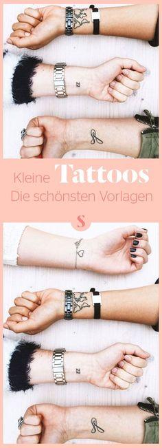 Kleine Tattoos: Die schönsten Vorlagen Mini Tattoos, Tattoo Trends, Tattoo Ideas, Tattoo Addiction, Pretty Tattoos, Tatoos, Tatting, Bff, Inspiration