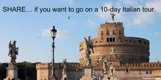 If you're planning to go on a 10-day Italian tour, start your trip in Rome and work your way up to Venice. Read more at http://www.touritalynow.com/blog/italy-travel-tips