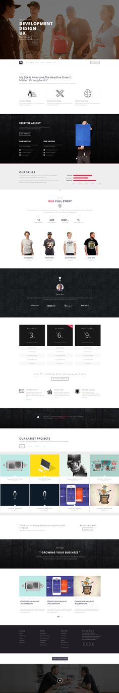 NORA - BS #Business | #Creative #Template