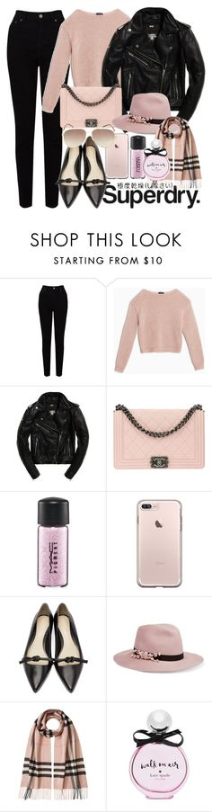 """""""The Cover Up – Jackets by Superdry: Contest Entry"""" by georgina-mitjans ❤ liked on Polyvore featuring Superdry, EAST, Max&Co., Chanel, MAC Cosmetics, 3.1 Phillip Lim, Eugenia Kim, Burberry, Kate Spade and Marc Jacobs"""