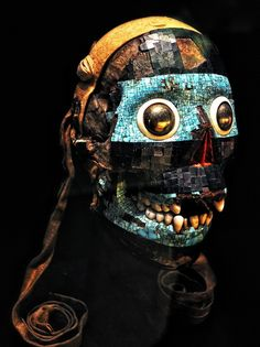 The rest., Mosaic mask of Tezcatlipoca. 15th–16th century AD. on ArtStack #the-rest #art