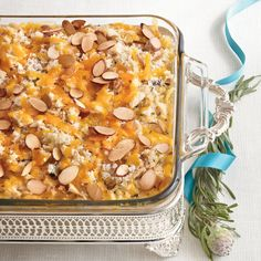 Chicken-and-Wild Rice Casserole - 101 Best Classic Comfort Food Recipes - Southern Living