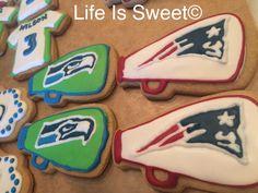 Super Bowl XLIX Cookies