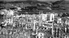 Spain - 1937. - GC - Operación Rügen, el bombardeo de Guernica. Gernika bonbardaketa ostean - 26abril1937.