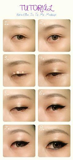 Bora's Makeup On Give It To Me Mv #bora #sistar #makeuptutorial #koreanmakeup