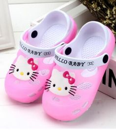 Summer Shoes For Children Cartoon Hello Kitty Lace Toddlers Soft Baby Girl Summer Shoes Infants First Walkers Led Light Glowing Baby Shoes